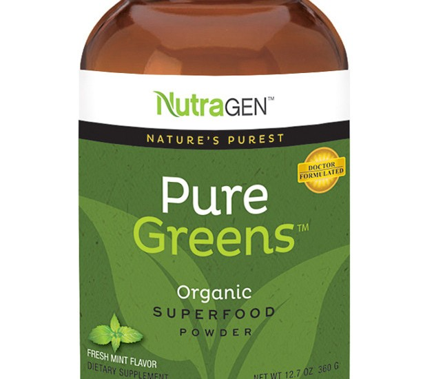 Pure Greens ™ – Organic Superfood Powder