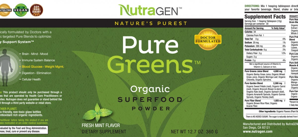Are SuperFoods a Craze or Real – Launching Pure Greens ™